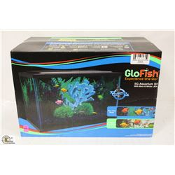 GLOFISH 5 GALLON AQUARIUM KIT WITH BLUE & WHITE LED
