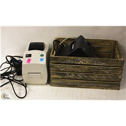 ZEBRA TECHNOLOGY TLP2824 PLUS LABEL PRINTER &