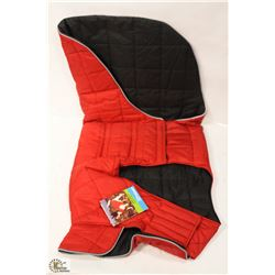 RC PET PRODUCTS SKYLINE PUFFY VEST SIZE 30 RED.