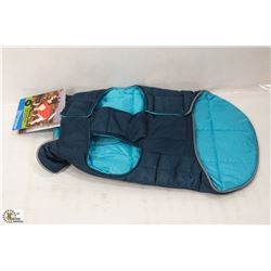 RC PET PRODUCTS SKYLINE PUFFY VEST SIZE 12.