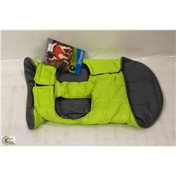 RC PET PRODUCTS SKYLINE PUFFY VEST SIZE 10.