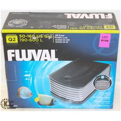 FLUVAL AIR PUMP 50-160 US GALLON.