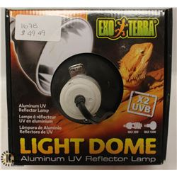 EXOTERRA LIGHT DOME ALUMINUM UV REFLECTOR