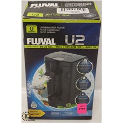 FLUVAL U2 UNDERWATER FILTER 30US GALLONS,
