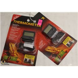 LOT OF 2 DIGITAL THERMOMETERS WITH REMOTE