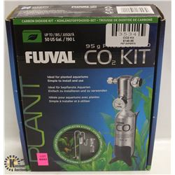FLUVAL CO2 KIT, UP TO 50 US GALLONS,