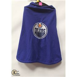 NHL OILERS PET SHIRT SIZE MEDIUM.