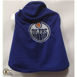 NHL OILERS PET SHIRT SIZE SMALL.
