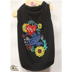 FLOWER CHILD TANK PET SHIRT SIZE SMALL/MEDIUM.