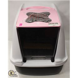 CATIT CLEAN CAT PAN WITH HOOD.