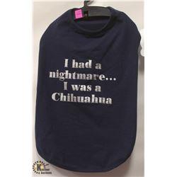 """I HAD A NIGHTMARE… I WAS A CHIHUAHUA"" PET"