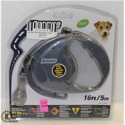 AVENUE RETRACTABLE 16FT LEASH FOR SMALL DOGS