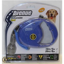 AVENUE RETRACTABLE 16FT LEASH FOR LARGE DOGS