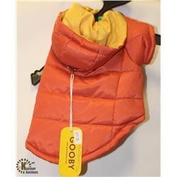 GOOBY APRICOT PET JACKET SIZE SMALL.