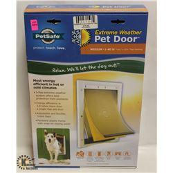 PET SAFE EXTREME WEATHER PET DOOR MEDIUM PETS