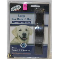 PETTAGS LARGE NO-BARK COLLAR FOR DOGS OVER 25LBS