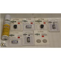 LOT OF ASSORTED PET SAFE REPLACEMENT BATTERY & ONE