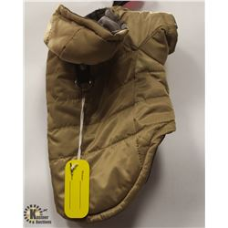 GOOBY OLIVE PET JACKET SIZE SMALL