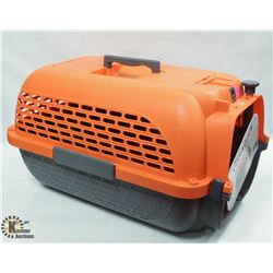 DOGIT ORANGE & GREY VOYAGEUR MEDIUM PET CARRIER