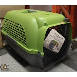 DOGIT GREEN & GREY VOYAGEUR X-LARGE PET CARRIER