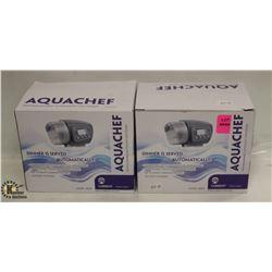 LOT OF 2 AQUACHEF PROGRAMMABLE AUTOMATIC FISH