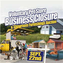 STAY TUNED FOR MORE PET STORE ITEMS IN OUR LIVE