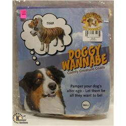 DOGGY WANNABE TIGER COSTUME SIZE SMALL