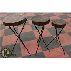 3PC DISPLAY TABLE SET