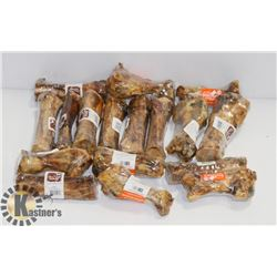 BOX OF CHEWING BONES FOR DOGS
