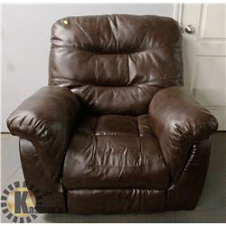 LEATHERETTE ROCKING/ RECLINING CHAIR