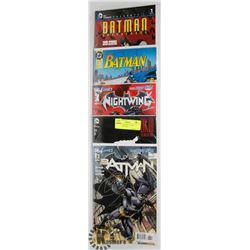 GROUP OF BATMAN COMICS VARIANT ZELLERS