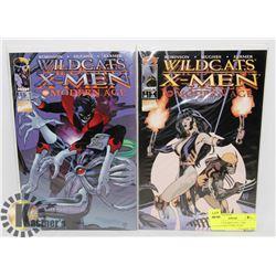 WILDCATS X-MEN VOL 1 THE MODERN AGE COMIC PLUS
