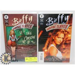 "2 BUFFY THE VAMPIRE SLAYER ""THE ORIGIN"" DIRECT SALE"