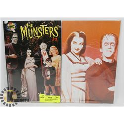 TV COMICS 1997 THE MUNSTERS #1 PLUS VARIANT COVER