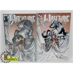 WITCHBLADE #7 PLUS WARTBLADE SPOOF, MATCHING
