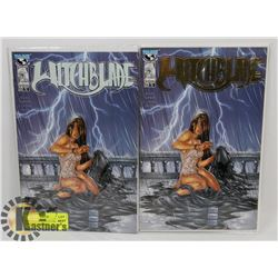 WITCHBLADE #14 PLUS THE SPECIAL GOLD FOIL VARIANT