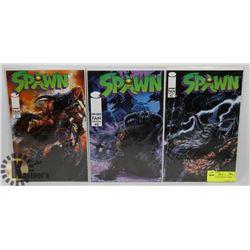 SPAWN FAN EDITIONS #1-3 COMIC BOOKS