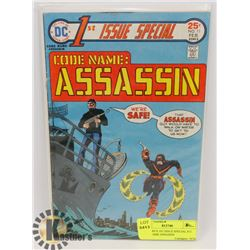 DC COMICS 1ST ISSUE SPECIAL #11 CODE NAME ASSASSIN