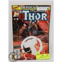 MARVEL COMICS HEROES RETURN THE MIGHTY THOR