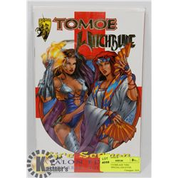 """TOMOE WITCHBLADE """"FIRE SERMAN"""" SPECIAL GOLD FOIL"""