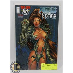 WITCHBLADE SPRING PIN UP AMERICAN ENTERTAINMENT