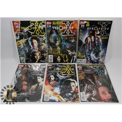 6 ASSORTED THE X-FILES COMIC BOOKS