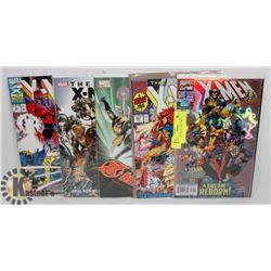 5 X-MEN COLLECTORS COMICS