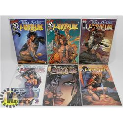 SIX TALES OF THE WITCHBLADE COMICS INCLUDES #01