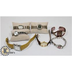 LOT OF SEVEN WOMEN'S WATCHES
