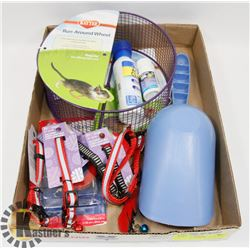 FLAT OF ASSORTED PET PRODUCTS