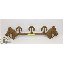 CAST IRON WESTERN COAT HANGER
