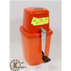 ORANGE SWING-A-WAY ICE CRUSHER