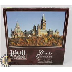 NEW 1000PC OTTAWA PARLIAMENT BUILDINGS PUZZLE