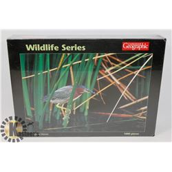 NEW CANADIAN GEOGRAPHIC GREEN HERON 1000PC